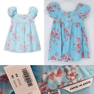 Girls Janie & Jack Spring Easter Dress 6mo